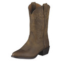 Kid's Ariat Boots Heritage Western Collection Distressed Brown #10001825