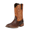 Men's Ariat Boots QUICKDRAW THUNDER BROWN / BITTER TAN #10016295