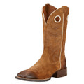 Men's Ariat Boots SPORT RIDER WIDE SQUARE TOE ANTIQUE MOCHA SUEDE #10017391