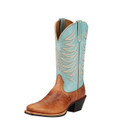 Women's Ariat Boots LEGEND LEGACY GINGERSNAP/SKY BLUE #10017379