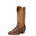 Women's Ariat Boots LEGEND LEGACY BRUSHED BROWN/BLACK ON MAHOGANY #10017383
