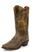 Tony Lama AMERICANA COLLECTION TAN JAWS/COGNAC ROLO #7977
