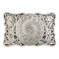 Montana Silversmiths Antiqued LeatherCut Gentlemen's Cameo Buckle #28500RTS