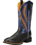 Men's Ariat Boots QUICKDRAW VENTTEK BUCKBOARD BLACK / PACIFIC  #10019986