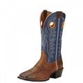 Men's Ariat Boots SPORT OUTRIDER Pinecone/Federal Blue #100862