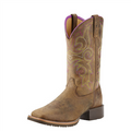 Women's Ariat Boots HYBRID RANCHER Distressed Brown #10018527