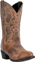 "Men's Laredo 12"" BIRCHWOOD Tan Distressed Leather #68452"