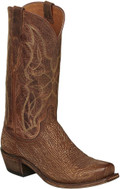 MEN'S LUCCHESE CARL COGNAC SHARK #M3197