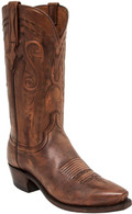 MEN'S LUCCHESE BRANDON ANTIQUE WHISKEY COWHIDE #N1665