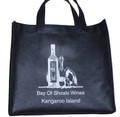 Non Woven Wine Bottle Bag For 3 Bottles Standard