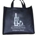 Non Woven Wine Bottle Bag For 3 Bottles Standard