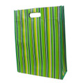 Non Woven Laminated - Multipurpose gusset Recycling Bag  -D cut Handle