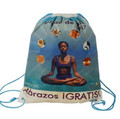 Non Woven Laminated - Backpack With Logo