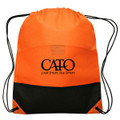 Non Woven PP Backpack Customized Bags With Steel Rivets and Velcro