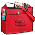 Non Woven Messenger Bags  -With Adjustable Strap and Side Pocket