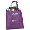 Non Woven PP Library  Tote Bag  -With Front Pocket