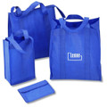 Non Woven PP Foldable Customized Bag  -With Velcro
