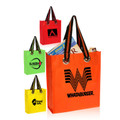 Non Woven PP Multipurpose-Gusset Personalized Bags  -With Steel Rivet and Nylon Handle