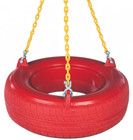 Plastic Tire Swing with Plastisol Chain