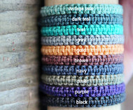 nylon options for Rauha or Mana hand knotted bracelets