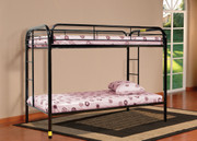 #4501-Twin Twin Metal Bunk