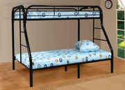#4502 Twin Full Metal Bunk