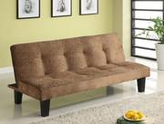 #80311 Stella  Microfiber Sofa Futon