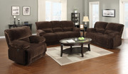 #80500 Corduroy Sofa, Love and Chair, 5 Recliners