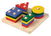 Plan Toys Wooden Geometric Sorting Board