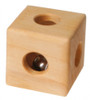 Grimm's Wooden Cube Rattle