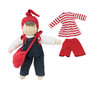 "Organic Cotton Waldorf Doll with Purse - ""Jill"""