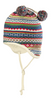 Organic Wool/ Silk/ Cotton Multicolor Baby Hat
