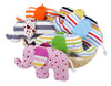 Under the Nile Organic Cotton Scrappy Elephant Toy