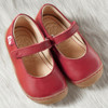 "Natural Leather Toddler Ballerina Shoes-  ""Granada"""