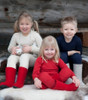 Ruskovilla Organic Merino Wool Children's Long Johns