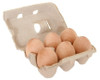 Birch Wooden Eggs &amp; Recycled Paper Carton