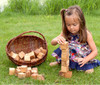 Wooden Building Blocks Set