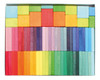 Wooden Color Chart Rally Blocks Set
