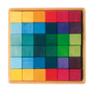 Large Wooden Cube Blocks Set (36 pieces)