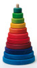 Large Wooden Conical Stacking Tower