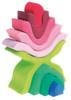 Grimm's Little Flower Wooden Nesting Toy