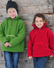 Organic Wool Fleece Pullover Jacket