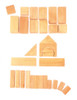 Wooden Geo Blocks in Natural by Grimm's Spiel & Holz (30 pcs)