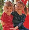 Engel Organic Merino Wool Children's Long Sleeved Striped Shirt