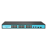 AN926 24 port Fast POE Switch with 2 Gigabit Up-Link ports