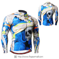 FIXGEAR CS-19B1 Men's Cycling Jersey long sleeve