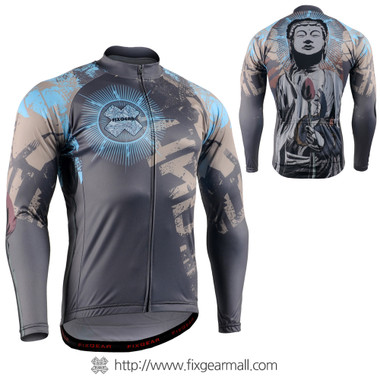FIXGEAR CS-7901 Men's Long Sleeve Cycling Jersey