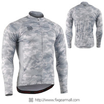 FIXGEAR CS-M1G1 Men's Long Sleeve Cycling Jersey