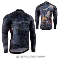 FIXGEAR CS-H501 Men's Long Sleeve Cycling Jersey