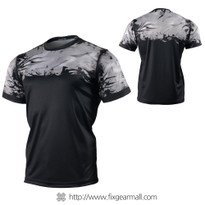 FIXGEAR RM-S04 Men's Casual short sleeve Crew-Neck T-shirt
